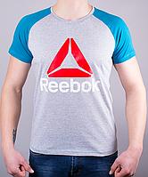 Мужская футболка-реглан Reebok Crossfit 100 % хлопок