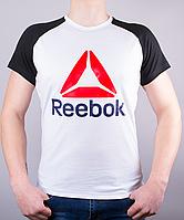 """Модная мужская футболка-реглан """"Reebok Crossfit """""""