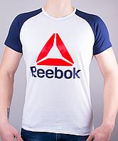 """Стильная мужская футболка-реглан """"Reebok Crossfit """""""
