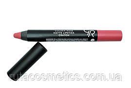 Матова помада, олівець для губ GOLDEN ROSE MATTE LIPSTICK CRAYON [13]