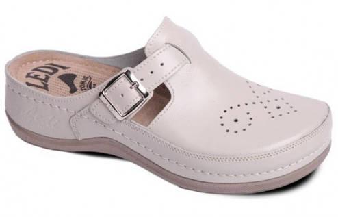 Обувь анатомическая - Сабо женские анатомические (бежевый, белый, красный, черный) , фото 2
