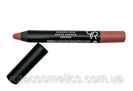 Матова помада, олівець для губ GOLDEN ROSE MATTE LIPSTICK CRAYON [14]