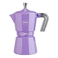 Кофеварка гейзерная, на 1 порцию, фиолетовая Zarina