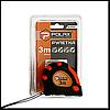 Рулетка с магнитом POLAX 29-014 обрезиненная 3х19мм