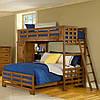 """Двухярусная  кровать семейного типа """"Оливер """" массив дерева"""