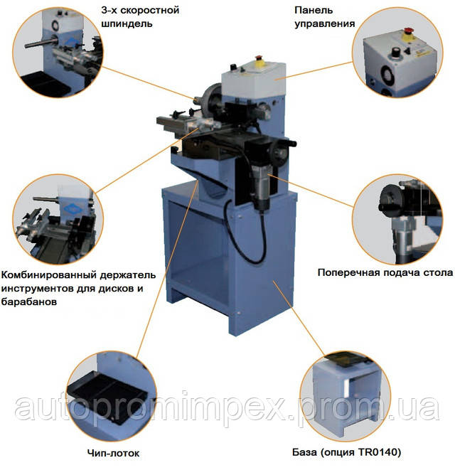 технические особенности станка TR 470 COMEC