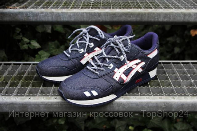 "Кроссовки Asics Gel Lyte III ""Selvedge Denim"""