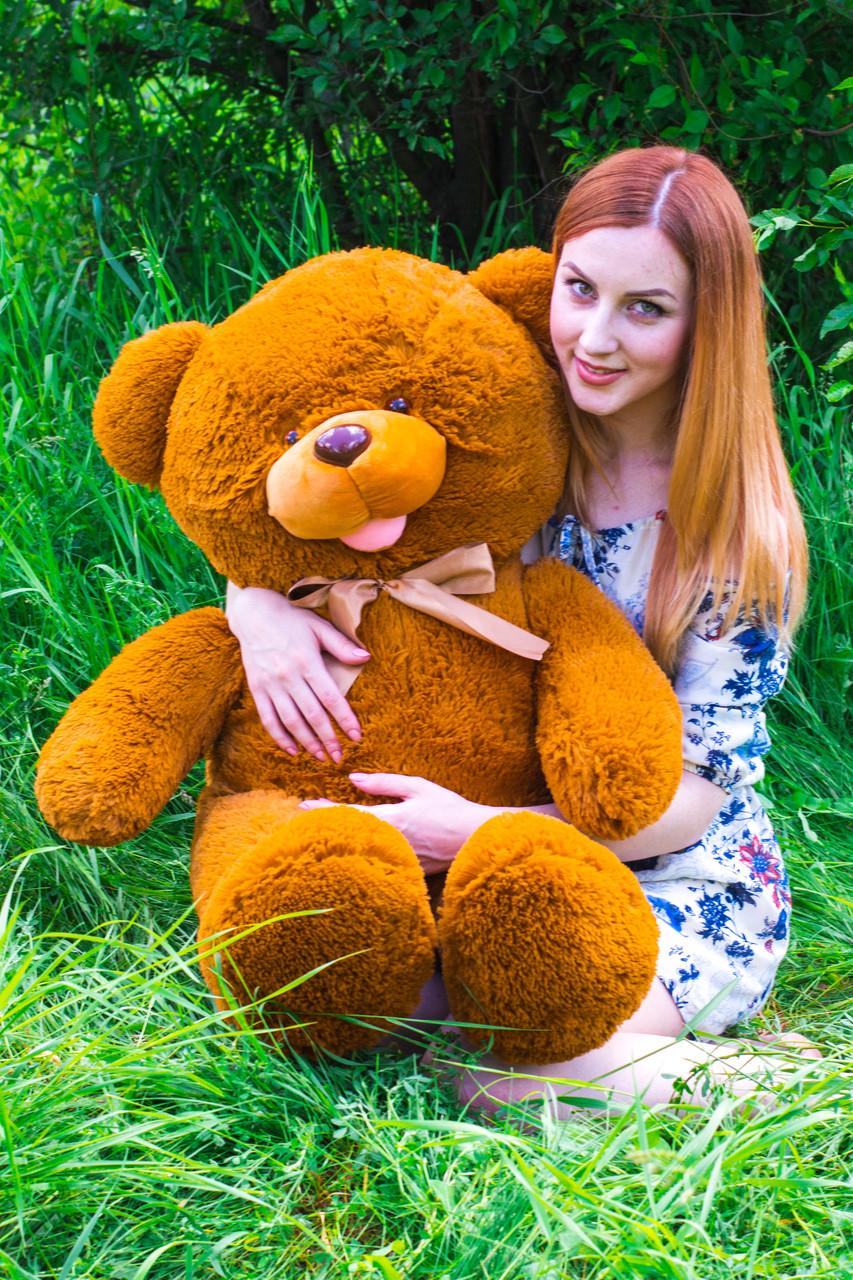 Большой плюшевый медведь 120см. Машенька разные цвета (плюшевый мишка,