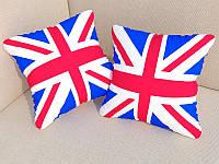 "ФотоПодушка ""Британский флаг"" 40*40 см"