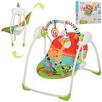 Кресло-качалка Bambi музыкальное с таймером