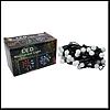 """Гирлянда черная """"шарики"""" 50 LED мерцающие огни, c транзитным соедин."""