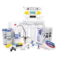 Фильтр для очистки воды - система обратного осмоса RO 7+ 11фильтров в подарок.