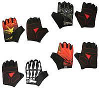 Перчатки без пальцев для велоспорта Qepae 5Bavar Sport