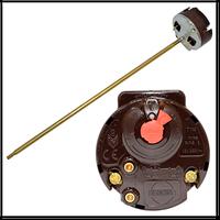 TW RTS 16A - Термостат 16A, с тепловой защитой(83С), max темпер-ра рег-ки 75С, L-300 мм