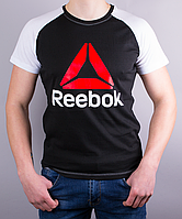 Классная мужская футболка-реглан Reebok Crossfit