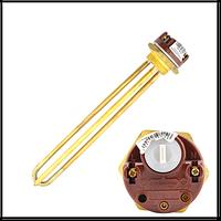 "Ars 4000 Тэн 4, 0 кВт, гайка, латунь1 1/4"" терморегулятор тип Ariston, Китай без крепления под анод"