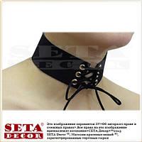 Чокер (choker) ожерелье,колье на шею шнуровка