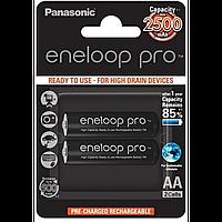 Аккумулятор eneloop panasonic pro r6/aa 2500mah 1x2шт (bk-3hcde/2be) Япония