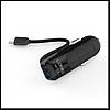 Автомобильное зарядное устройство Ldnio DL-C25 5V/2.1A 1USB, с Micro USB кабелем, цвет черный