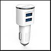 Автомобильное зарядное устройство Ldnio DL-C29 5V/3.4A 2USB, с Micro USB кабелем, цвет белый