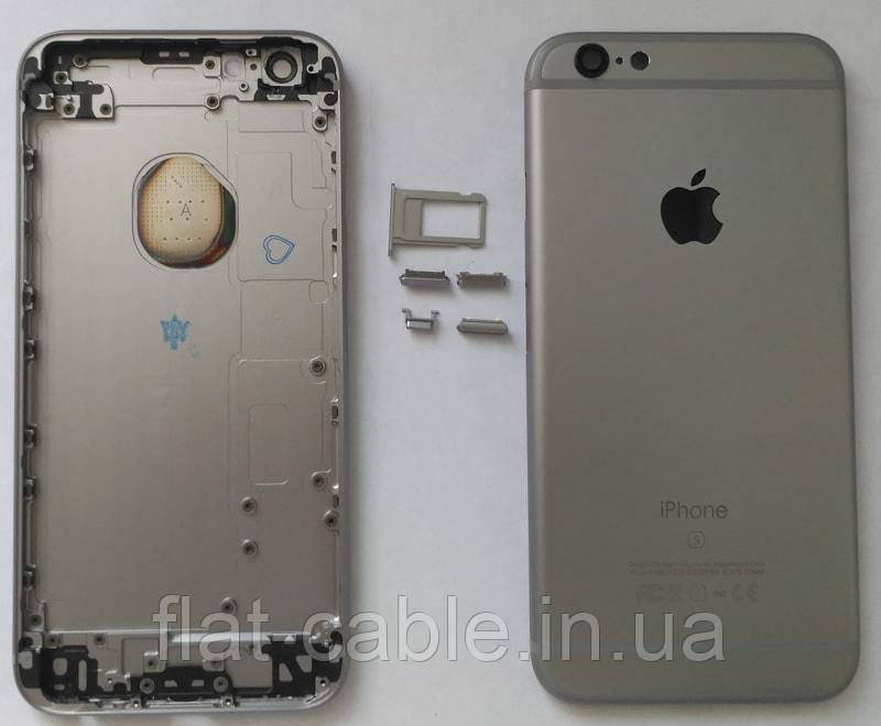 """Крышка для iPhone 6s корпуса  (4.7"""") (Grey} серого цвета"""