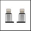 Переходник Visual RA-USB2 to Apple, цвет серебристый Remax
