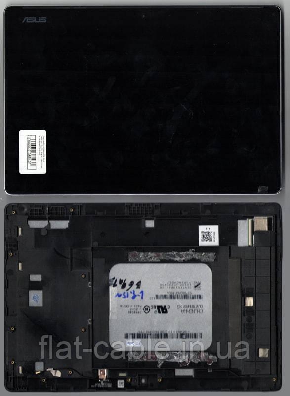 Дисплей для планшета Asus ZenPad 10 Z300C, Z300CG Black с сенсором и передней панелью