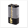 "Батарейка GP Supercell солевая 6F22 (""крона"")"