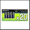 "Батарейка Sony AAA/LR03 Alkaline (""микропальчик"") (уп.20 шт. цена за уп.)"