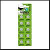 Батарейка Videx (часовая) щелочная AG10/LR1130 (на блистере 10 шт.цена блистер) круглая