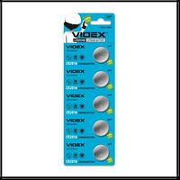 Батарейка Videx литиевая CR 2016 3V блистер (на ленте 5 шт.цена за ленту) круглая