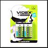 """Батарейка Videx C/LR14 (""""средний бочонок"""") (уп.2 шт. цена за уп.)"""