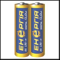 "Батарейка Энергия щелочная AA/LR06 (""пальчик"") (уп.2 шт. цена за уп.)"