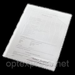 Папка-куточок Leitz Combifile, прозорий, упак. 5 шт. ESSELTE