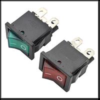 """Кнопка """"Вкл/Выкл"""" клавиша средняя 4 контакта 2 положения с подсветкой (кп-9и)"""