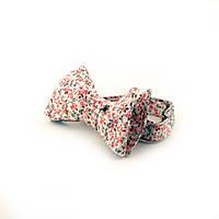 Галстук-бабочка самовяз ручной работы - Mint Evening