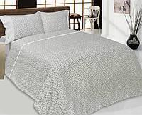 Комплект льняного постельного белья Чувственность семейный