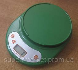 Кухонные весы ACS KE1 до 5kg, green, фото 2