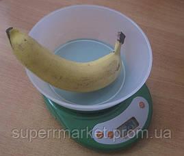 Кухонные весы ACS KE1 до 5kg, green, фото 3