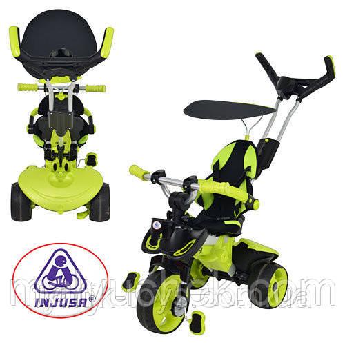 Трехколесный велосипед Injusa City Trike 3263-004 Зелено-черный