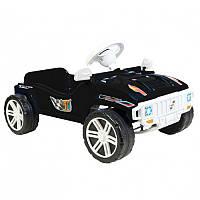 Машина педальная детская Орион 792 черная