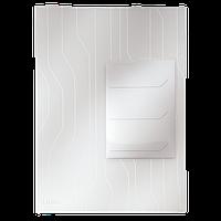 Папка-уголок Leitz Combifile, 3 секции, прозрачный, упак.3 шт. ESSELTE
