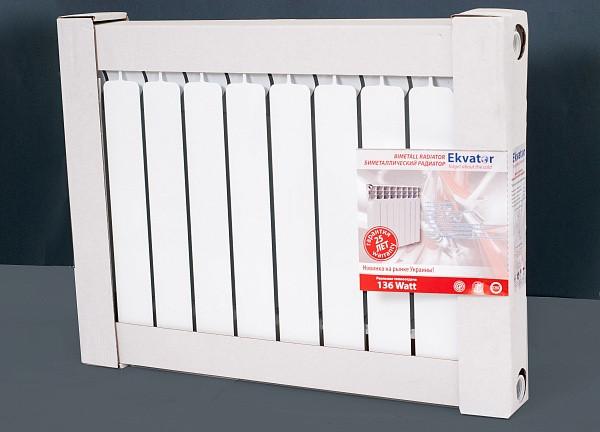 Биметаллический радиатор Ekvator 500/80