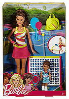 Кукла Барби тренер по теннису с аксессуарами Barbie, фото 1