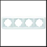 Рамка четырехместная Viko Carmen 1104 горизонтальная