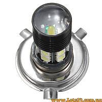 Авто-лампы H4 12 SMD + 1 CREE LED (светодиодные лампы для авто, альтернатива DRL и ДХО)