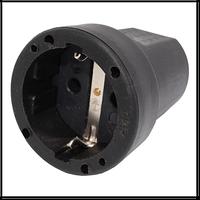 Розетка переносная РП16-001/602210В с заземляющим контактом