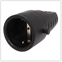 Розетка переносная Светоприбор РП16-007/602228/WC с заземляющим контактом