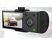Видеорегистратор c GPS DVR H990S на 2 камеры DF