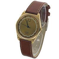 Позолоченные часы Слава кварц сделано в СССР - 買い腕時計ソ